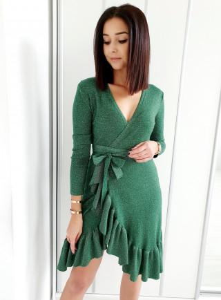 Sukienka CONOSTO zielona