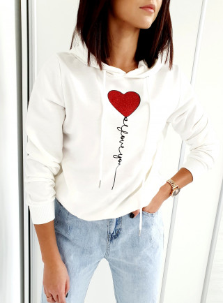 Bluza KAPTIVE biała