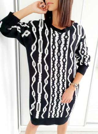 Sukienka OFELIA czarna