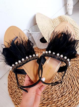 Sandały PIUMA czarne