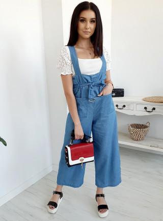 Spodnie KANGOO jasny jeans