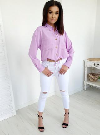 Spodnie HOLY białe