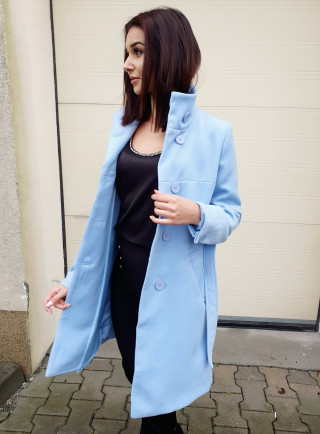 Płaszcz ZELL niebieski