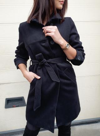 Płaszcz ZELL czarny
