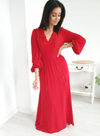 Sukienka BRAVE czerwona