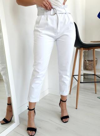 Spodnie TRIXY białe