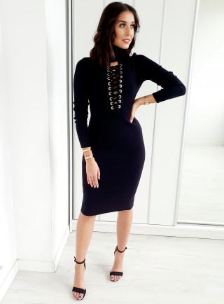 Sukienka TIANA czarna