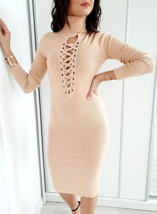 Sukienka TIANA puder