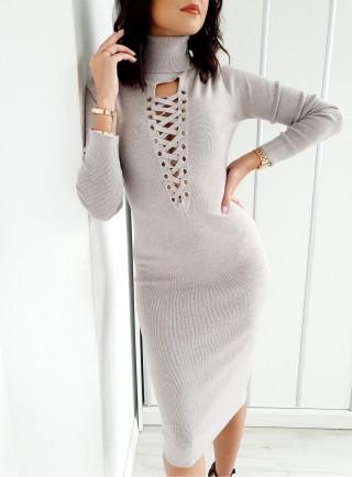 Sukienka TIANA beż