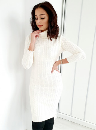 Sukienka ELEGA ecru
