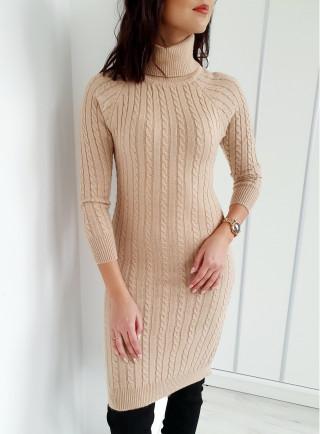 Sukienka ELEGA beż