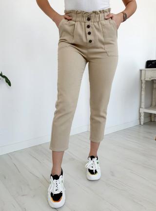 Spodnie PULSANTI beż