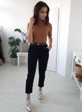 Spodnie VELLUTO czarne