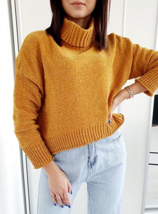 Sweter MAGNOLINE żółty