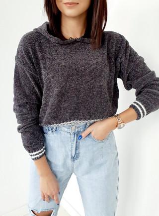 Sweter INGRID szary