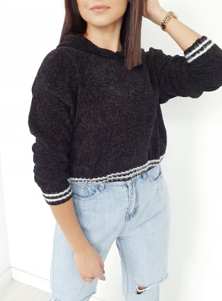 Sweter INGRID czarny