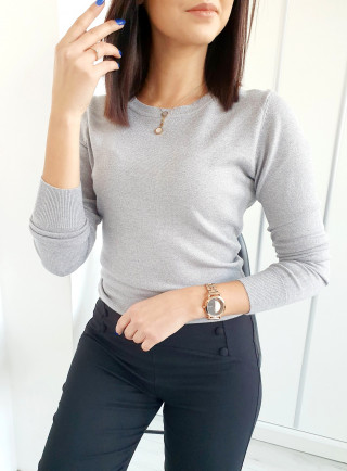 Sweter NINA szara