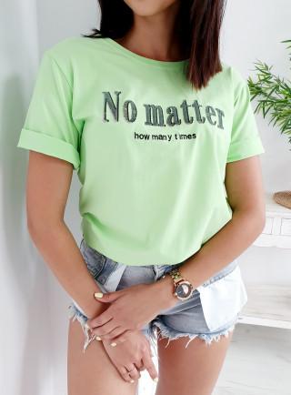 T-Shirt MATTER zielony