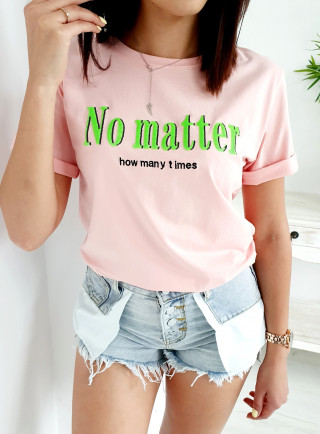 T-Shirt MATTER puder