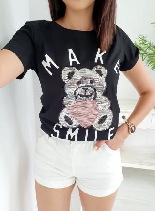 T-Shirt ORSO czarny