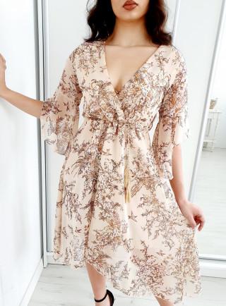 Sukienka LOTTE beż