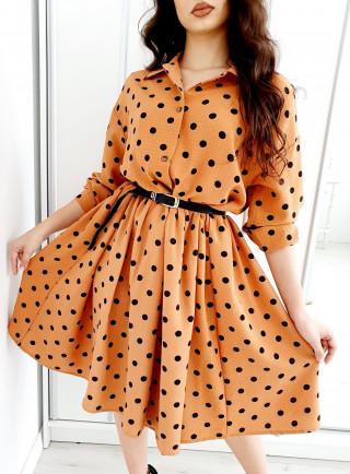Sukienka PISELLI beż
