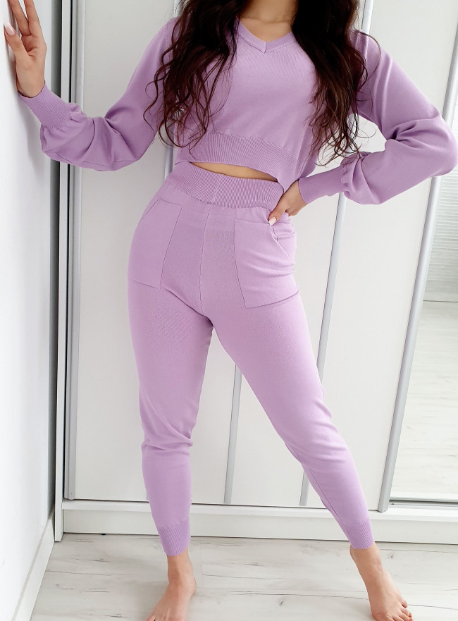 Eleganckie spodnie MINIMO khaki