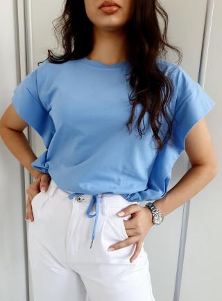 Bluzka EMILY niebieska