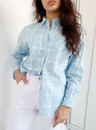 Koszula BUONO niebieska