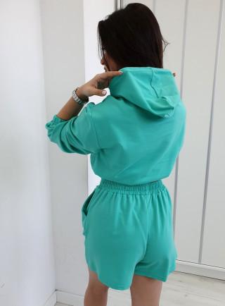 Militarne spodnie LOGORO dziury