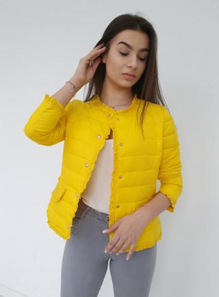 Kurtka VANESS żółta