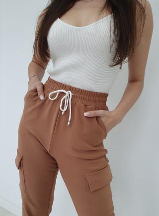 Spodnie bojówki MESA brąz