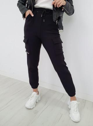 Spodnie bojówki MESA czarne