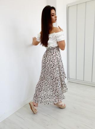 Spódnica ARIOSO biała