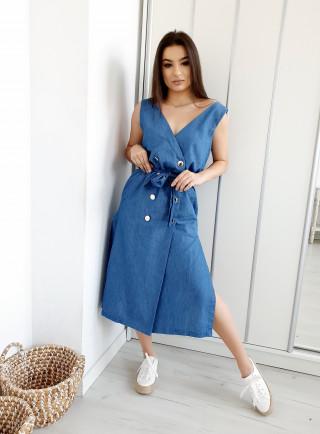 Sukienka VERA jasny jeans