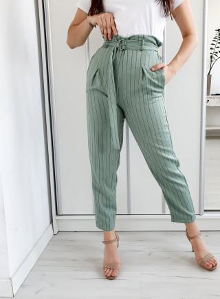 Spodnie ELARA zielone
