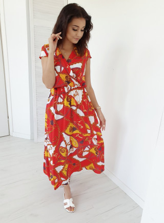 Sukienka LARISSA czerwona