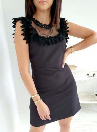 Sukienka MEVILLA czarna