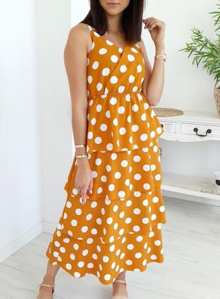 Sukienka PISELLO żółta