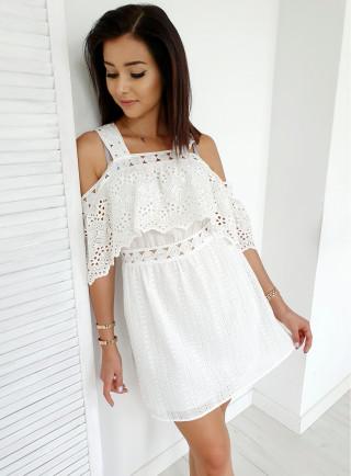 Sukienka VICENZA biała