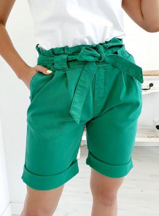 Szorty MARINA zielone size+