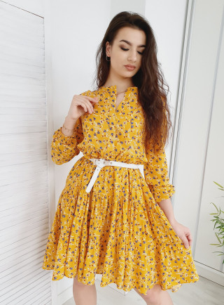 Sukienka CHARLOTTE żółta