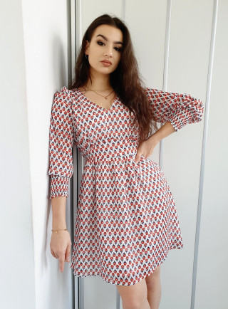 Sukienka CREMA biała