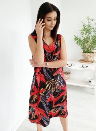 Sukienka LEVANZO czarna size+
