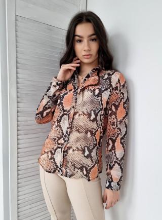 Koszula LISA pomarańcz