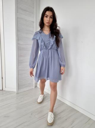 Sukienka ROSSANO niebieska