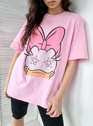 T-shirt DUCK róż