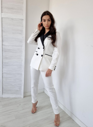 Komplet ALESSIA biały