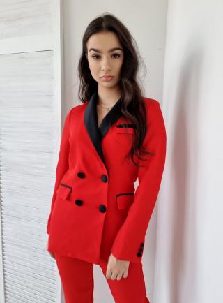 Komplet ALESSIA czerwony