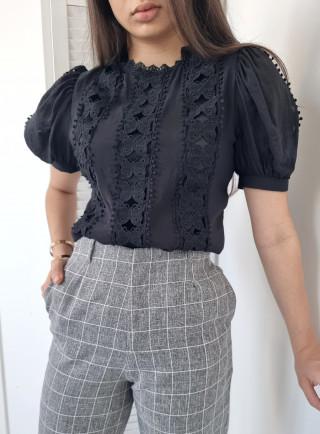 Bluzka FARFALLE czarna